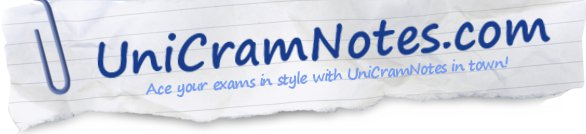 UniCramNotes.com - Ace your exams in style with UniCramNotes in town! University Law summaries, cram notes, model exams, case notes